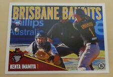 2012/13 Brisbane Bandits (Aussie Baseball) KENTA IMAMIYA -Fukuoka Softbank Hawks