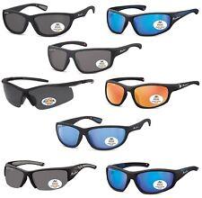 occhiali avvolgenti da sole polarizzati protettivi uomo donna pesca sport bici