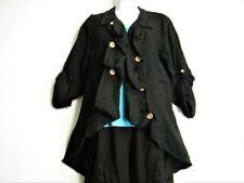 Cappotti e giacche da donna nessuna neri in lino