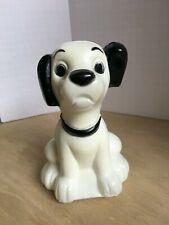Rare Vintage Disney 101 Dalmatians Lucky Dog Transogram Brand Blow Mold Bank