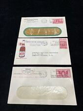 3 Soft Drink Co's Envelopes Coca Cola Nehi Pepsi Cola Honolulu, Hawaii 1949 Q6