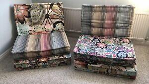 2 X Roche Bobois Mah Jong Chairs