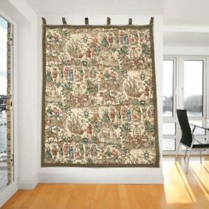 11008 Vintage French Tapestry Romantic Wall Hanging Home Dcor Tapestry 4x4