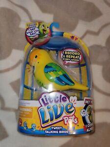 Little Live Pets Tweet Talking Birds  Cheeky Charlie Yellow Bird