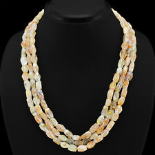 Natural Rutile Quartz Gemstone Multicolor Beads Women Necklace Jewellary