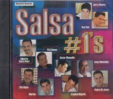 Jerry Rivera Rey Ruiz Gilberto Santa Rosa Tito Gomez Salsa #1 CD New Sealed