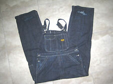 Distressed POLO JEANS WORKWEAR Denim Jean Overall Hip Hop Pants USED LARGE L