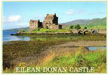 Scotland  -  Highlands - Dornie - Eilean Donan Castle at the Loch Duich