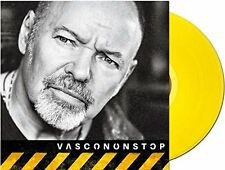 "ROSSI VASCO VASCONONSTOP VINILE EP 10"" 45 GIRI GIALLO NUMERATO NUOVO SIGILLATO"