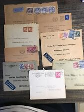 Collection of Envelopes to Tyne Tees Steam company, mixed condition