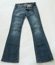 Lucky Brand Womens Stretch Denim Button Fly Medium Wash Boot Cut Jeans Size 4