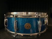 Gretsch 60's NameBand #4157 Blue Sparkle Snare Drum