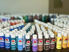 2oz or 8 oz Apple Barrel Acrylic Paint Matte, Satin Gloss - Choose 100+ Colors