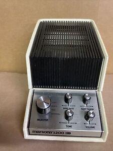 Marsona 1200 Sound Conditioner White Noise Generator Sound Machine