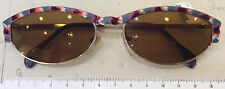 Zeiss 9398 4200 occhiale sole zeiss donna nuovo vintage anni 90 metallo
