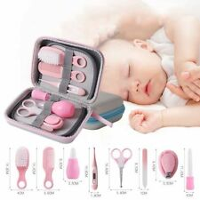 Baby Nail Care Kit Kids Manicure Set Scissor Thermometer Comb Brush