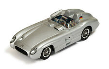 1 43 IXO MERCEDES 300 SLR Racing Sports Car 1955 Silver