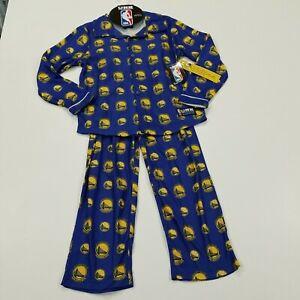 ●006 Golden State Warriors UNK NBA Boys Basketball Pajamas Sleepwear 10-12