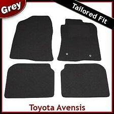 TOYOTA AVENSIS Mk2 2003-2008 Tailored Fitted Carpet Car Floor Mats GREY