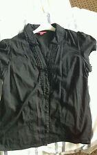 Monsoon Women's Short Sleeve Sleeve V Neck Waist Length Tops & Shirts