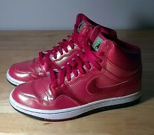 Mens Nike trainers size 7 red COURT FORCE HIGH EGYPT EYE OF HORUS mens,ladies 7
