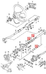 Genuine AUDI VW 100 Avant 200 4000 Quattro 50 5000 Turbo washer 803419345