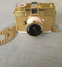 Lomography Diana Mini Gold Edition Camera AS IS