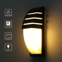 Modern COB Cuboid LED Wall Lamp 15W Modern Sconce Lighting Fixture Outdoor Porch