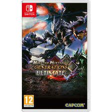 Monster Hunter Generations Ultimate Nintendo switch Combined