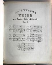 Beethoven Trios, Ludwig van Beethoven, Beethoven, musica, voti,