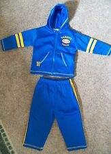Teddy Boom Hoody Coat Pants 18 Month Football Varsity Team Fleece Warm-up Set