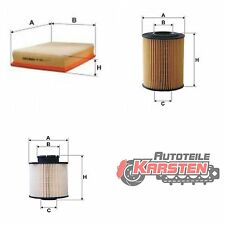 Set M: Kraftstofffilter+Luftfilter+Ölfilter Filtersatz CHEVROLET OPEL
