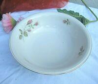 * hutschenreuther schüssel mit rosendekor und gold feines porzellan vintage