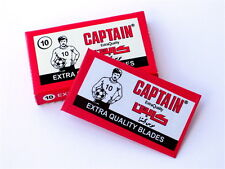 100pc Captain By Lord Carbon Steel Razor Blades