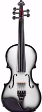 AEX CARBON COMPOSITE ACOUSTIC ELECTRIC VIOLIN 4 STRING, WHITE