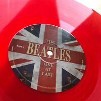 THE BEATLES - LIVE AT LAST - LIMITED EDITION ON RED COLORED VINYL - LP ALBUM