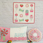 PATTERN - Sweet Treats - sweet mini quilt & cushion PATTERN - Tied with a Ribbon