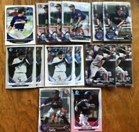 (x45 Lot) Ryan McMahon & Tapia (1st Bowman) RC (Chrome) 2013 Draft #31 Rockies