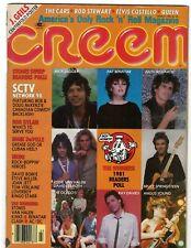 Creem Magazine March 1982 Sctv Bob Dylan Mink DeVille Nrbq David Bowie The Cars