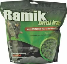 Ramik 116336 Rat/Mouse Killer Green Nuggets 4lb Wet Or Dry Areas *