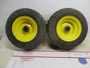 John Deere 240 245 260 265 285 320 front wheels and 16x6.50-8 tires