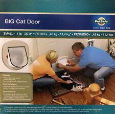 PetSafe Big Cat/Small Dog Pet Door up to 25 lbs For Doors and Windows