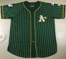 Rare Vintage Athletics Baseball Starter Jersey SizeXL