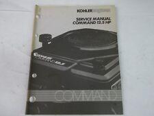 Kohler engines command 12.5 Hp service manual