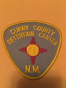 CURRY COUNTY NEW MEXICO DENTENTION CENTER CORRECTIONS  POLICE PATCH