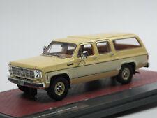 Matrix 1978 Chevrolet Suburban K10 beige/creme 1:43 Limited Edition