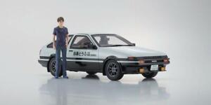 Initial D Toyota Sprinteur Trueno AE86 avec Figurine 1:18 Kyosho KSR18D01
