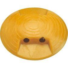 Markierungsnagel Typ D 2 Reflexlinsen beidseitig gelb Kunststoff Ø120mm