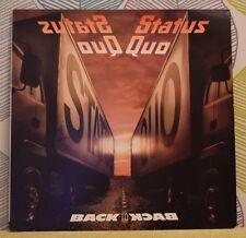 STATUS QUO – Back To Back [Vinyl 12 Inch LP, 1983] UK VERH 10 Rock *EXC*