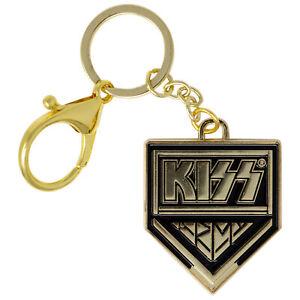 KISS Gold Logo Keychain Gold